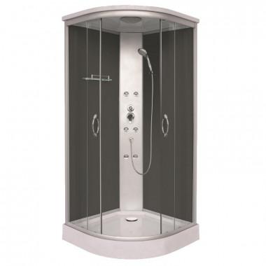 Box doccia idromassaggio angolare 90 x 90 cm