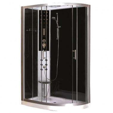 Box doccia idromassaggio 120x80 appoggio destra o sinistra