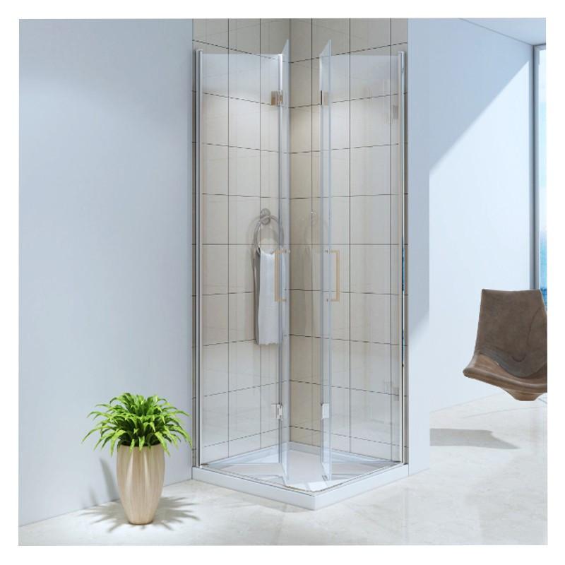Cabina doccia 2 porte vetro temprato 6 mm apertura - Cabina doccia prezzo ...
