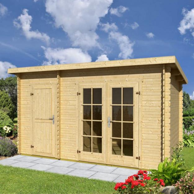 Casetta da giardino in legno di abete 4.5x3m Belmont