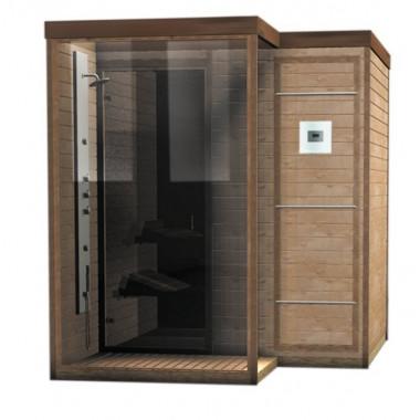 Doccia Sauna finlandese combinata