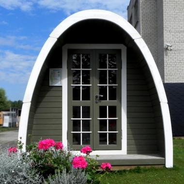 Camping Pod in legno casetta bungalow giardino 3x2,4m