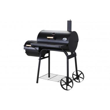 Miweba BBQ Smoker & barbecue a carbonella, 3 griglie