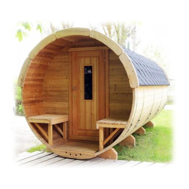 Affordable sauna finlandese a botte fino a persone da - Costo sauna in casa ...