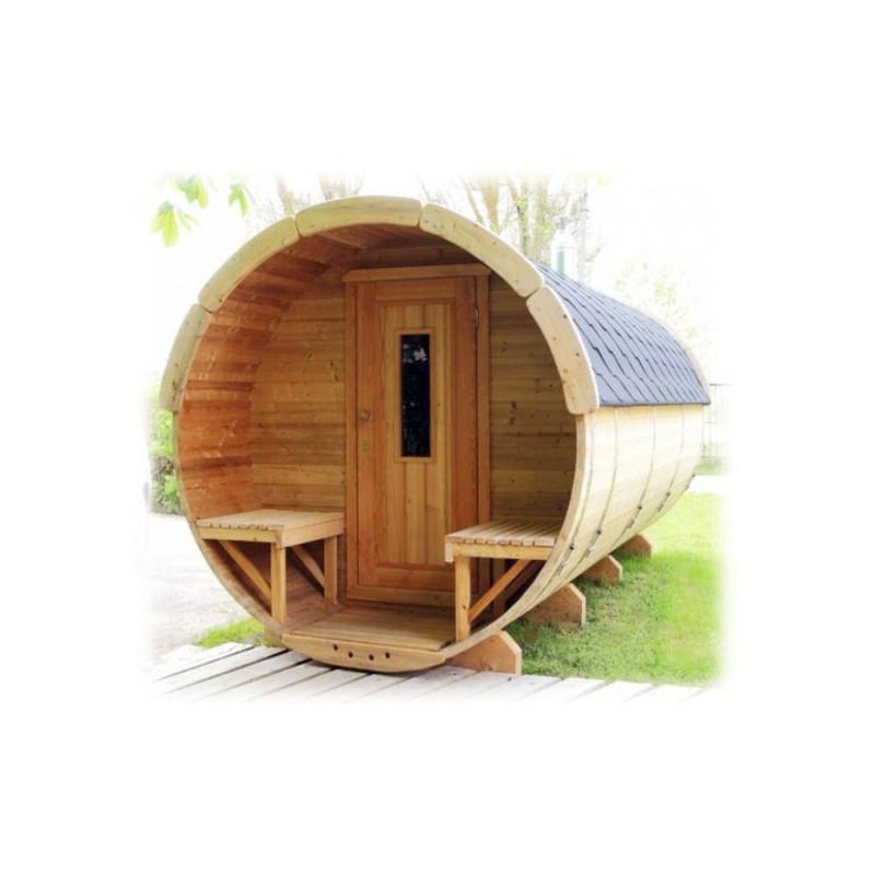 Excellent sauna finlandese a botte fino a persone da esterno with saune domestiche - Differenze tra sauna e bagno turco ...