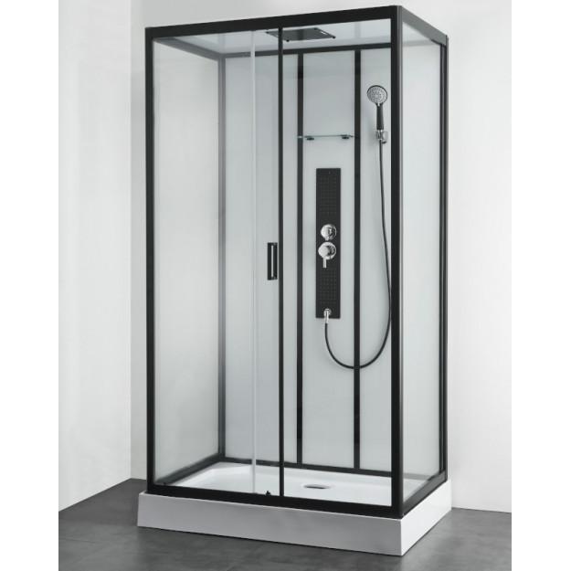 Box doccia idromassaggio rettangolare 120x80 mod 2019
