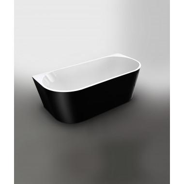 Vasca da bagno freestanding Diadema  BLACK 170x80cm