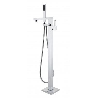 Rubinetteria a colonna per vasca da bagno freestanding
