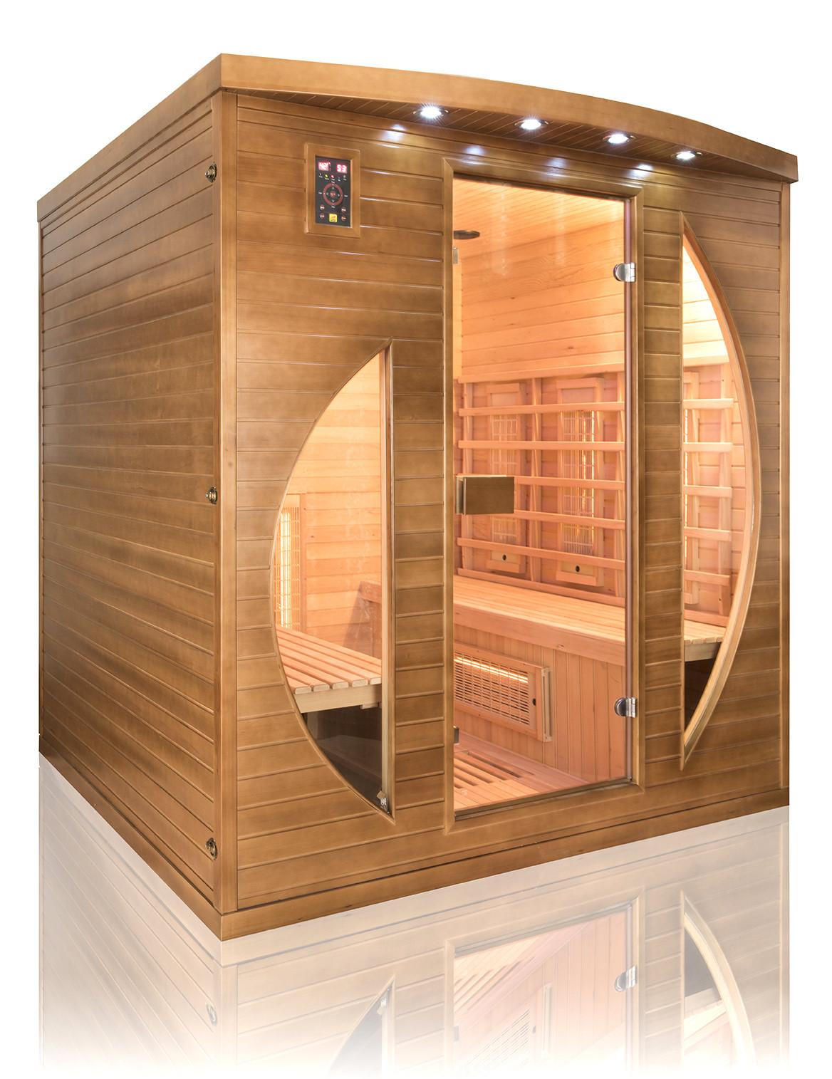Sauna In Casa Consumi sauna infrarossi a l magnesio e quarzo per 4 persone