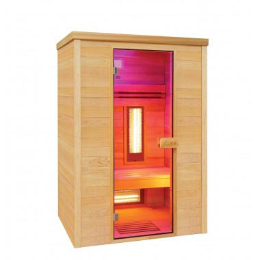 Sauna infrarossi MULTIWAVE  per 2 persone cedro canadese
