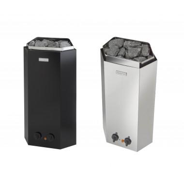 Stufa elettrica sauna Minex Narvi 3kW o 3,6kW da parete e angolo comandi integrati