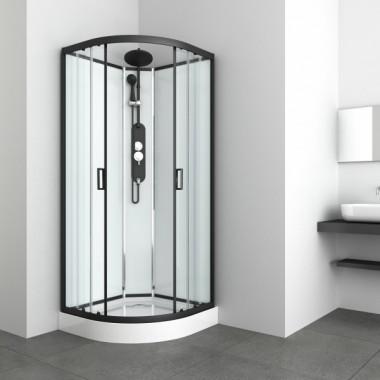 Box doccia idromassaggio circolare 90x90 mod 2020