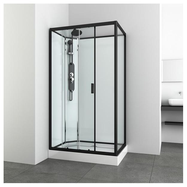 Box doccia idromassaggio rettangolare 120x80 mod 2020