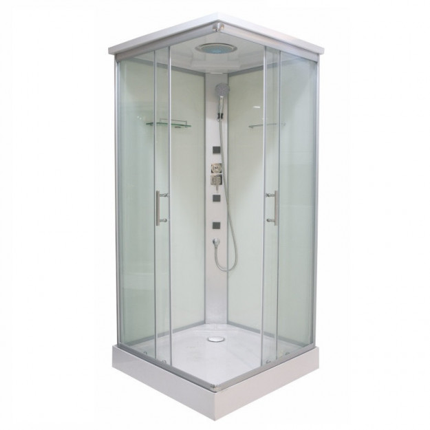Box doccia idromassaggio quadrato 80x80 e 90x90 cm