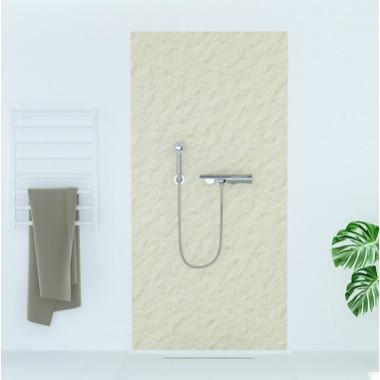 Pannello copriparete per doccia effetto sabbia