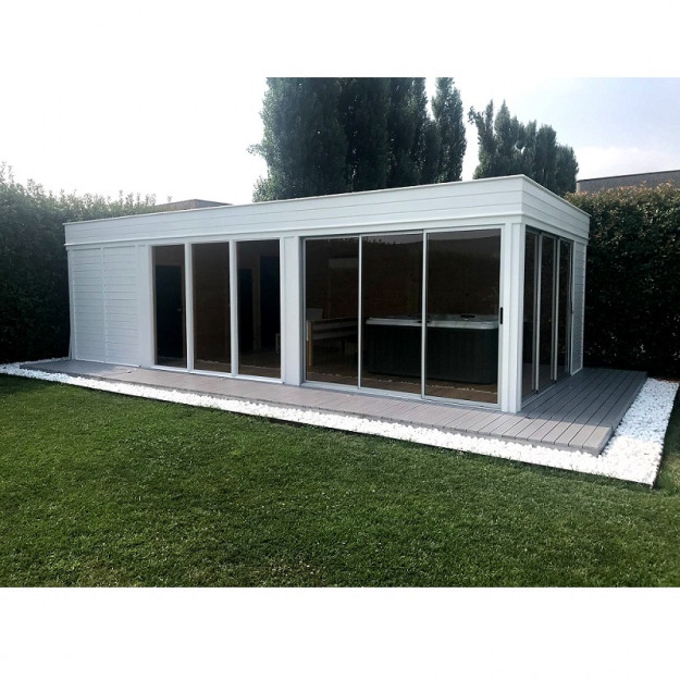 sauna da esterno su misura