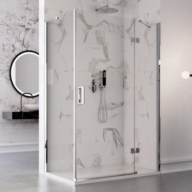 Box doccia anta battente 8 mm  super lusso diverse misure