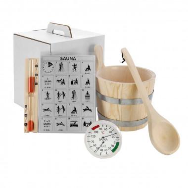 Kit accessori base sauna