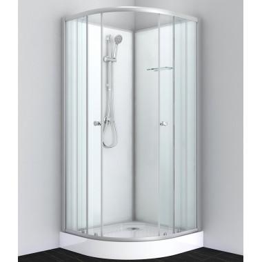 Box doccia rotondo 80x80 o 90x90 bianco