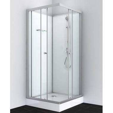 Box doccia quadrato 80x80 o 90x90 bianco