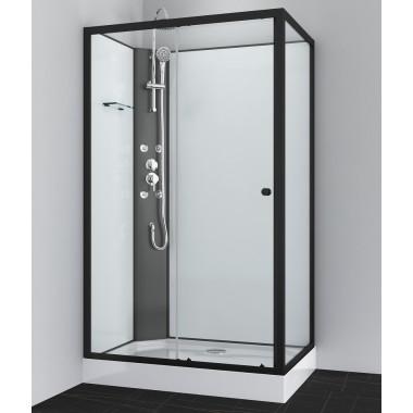 Box doccia idromassaggio rettangolare 120x80