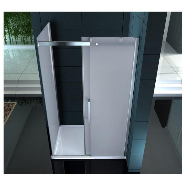 Box doccia in vetro 8 mm superlusso diamante 100 cm for Planimetrie della cabina di lusso