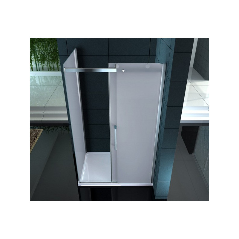Box doccia in vetro temprato 8mm superlusso varie misure prezzi - Box doccia in vetro prezzi ...