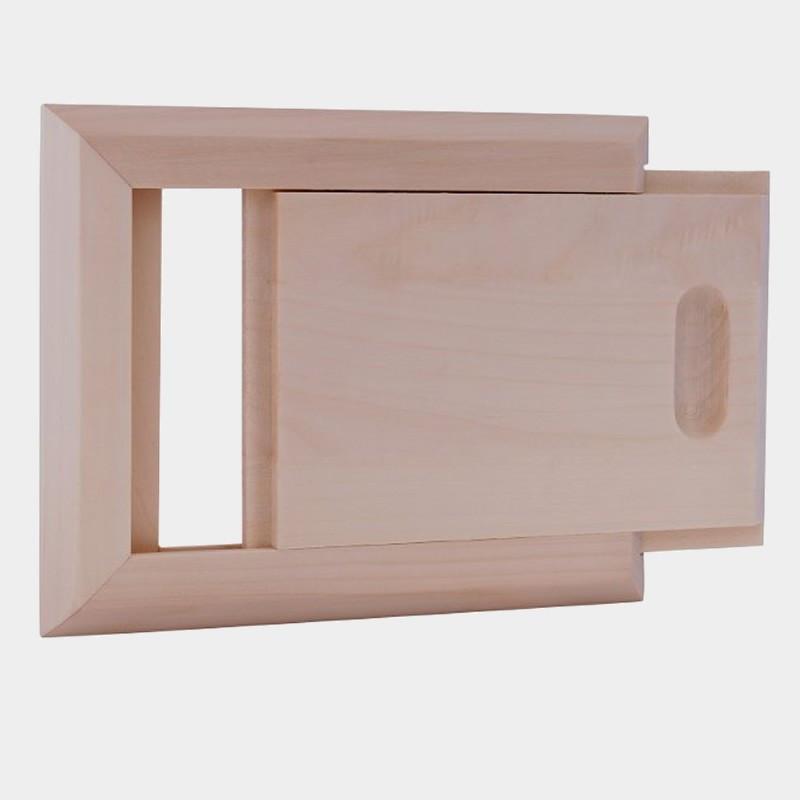 Sportello di ventilazione in legno per sauna finlandese prezzo
