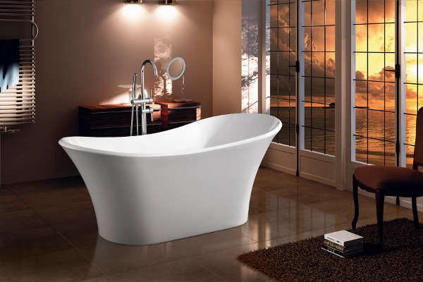 Vasca da bagno rettangolare 180 x 80 cm | eBay