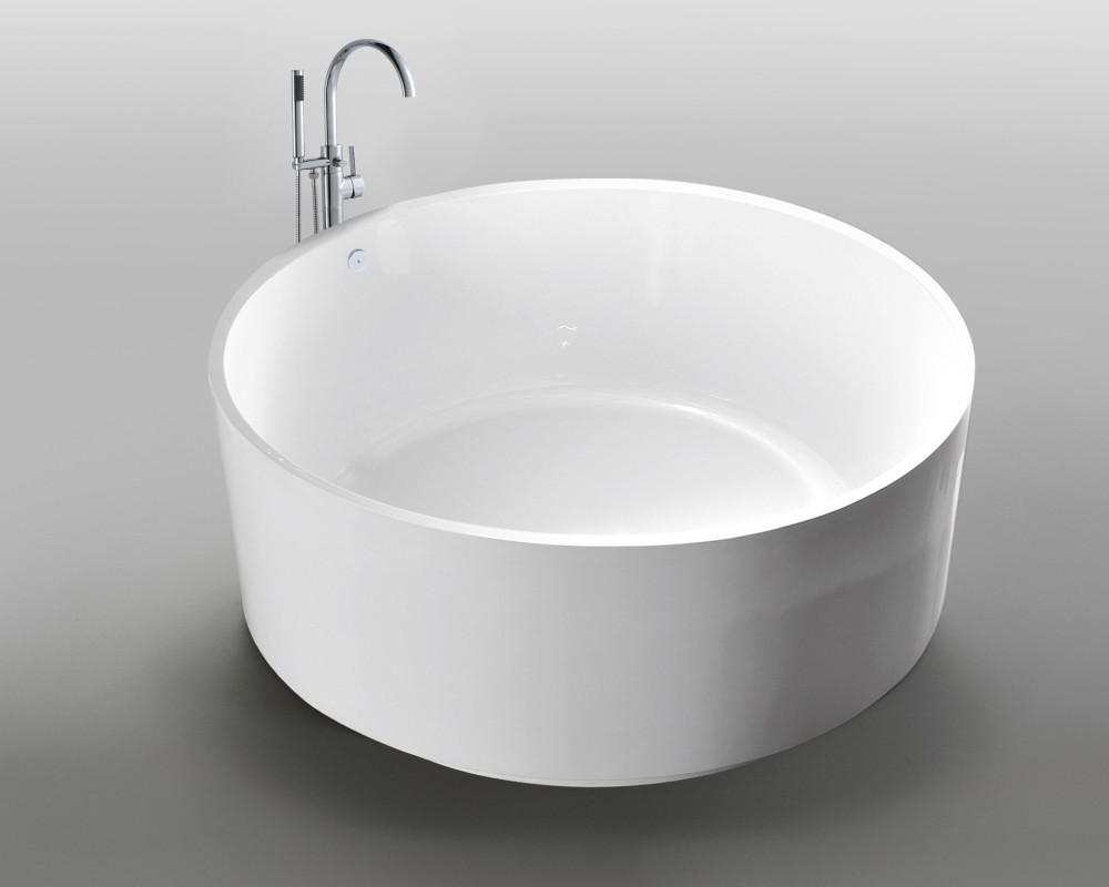 Vasca Da Bagno Freestanding Circolare Rotonda Idra Ottimo Prezzo