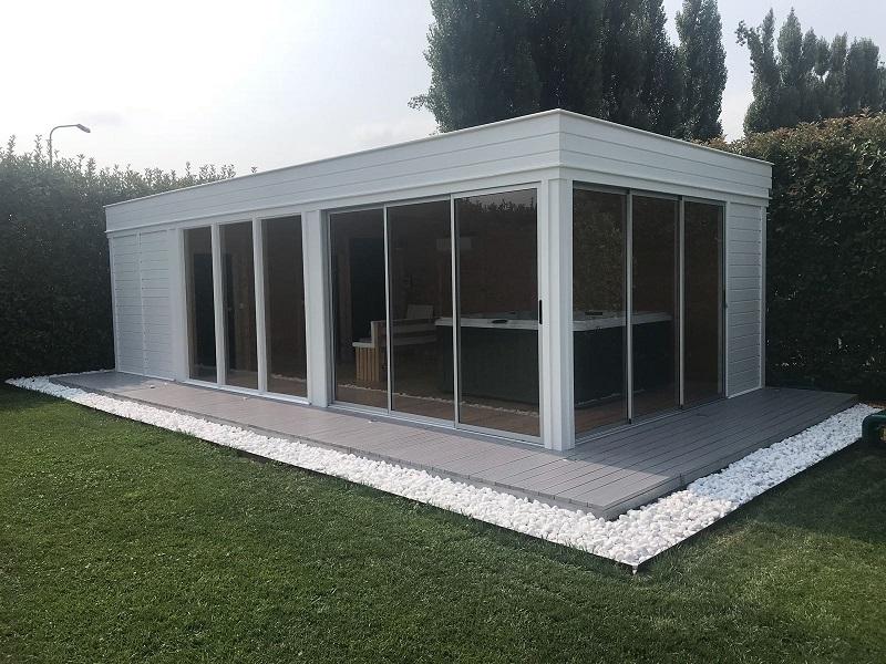 sauna da giardino