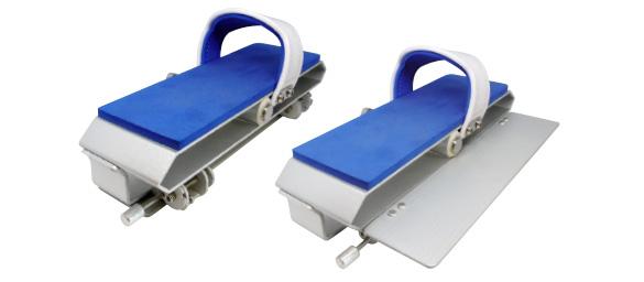 pedali con aletta regolabile per impostazione sforzo