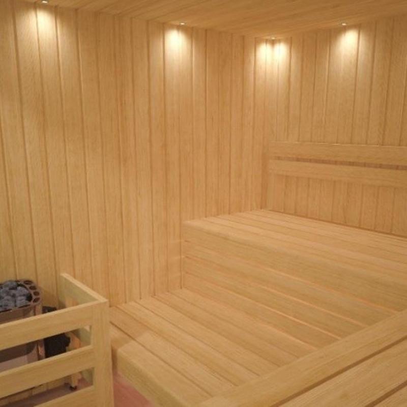 Luci sauna finlandese