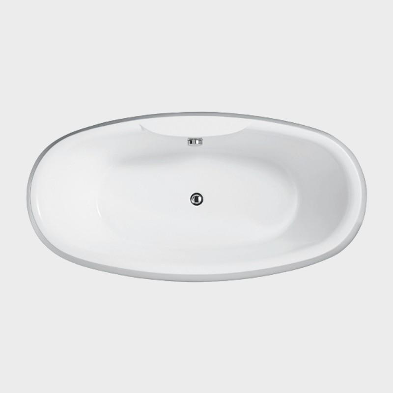 Vasca da bagno freestanding diadema 180x90 cm prezzo - Prodotti per pulire vasca da bagno ...
